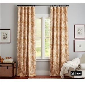 Pottery Barn Alessandra Drapes 50x84 panel